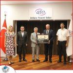 ATO Başkanı Gürsel BARAN'ı Ziyaret