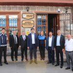 Belediye ve Özel İdare Çalışanları Birliği ziyareti
