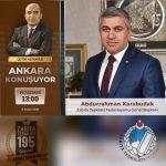 Ankara Konuşuyor Programı'nda Zabıta Konuşuldu