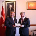 Türk Yerel Hizmet-Sen Genel Başkanı Mustafa YORULMAZ ziyareti